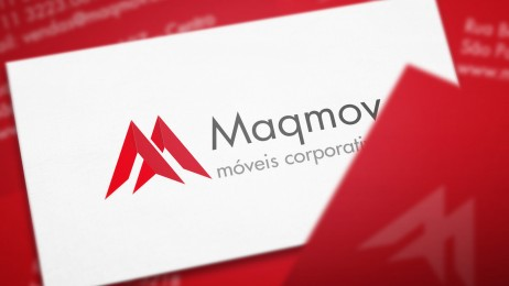Criação de Cartão de visita Maqmov