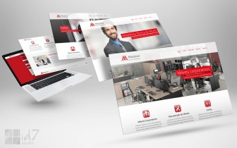 Desenvolvimento de website Maqmov