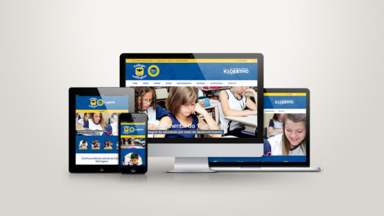 Colégio Wellington Website Responsivo